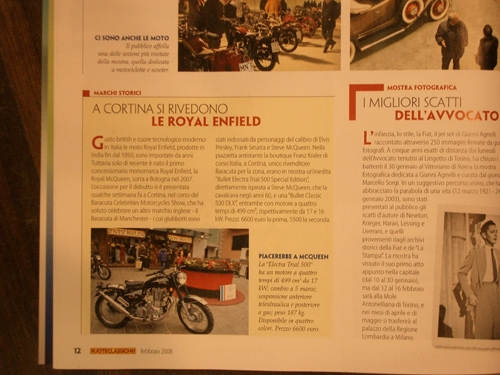 Royal Enfield - Ruoteclassiche 02 2008
