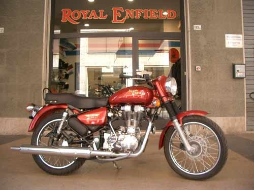 Royal Enfield - ELECTRA EURO 3 RED