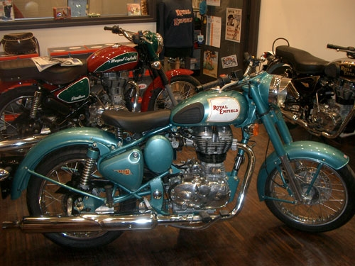 Royal Enfield - Classic 500 Green