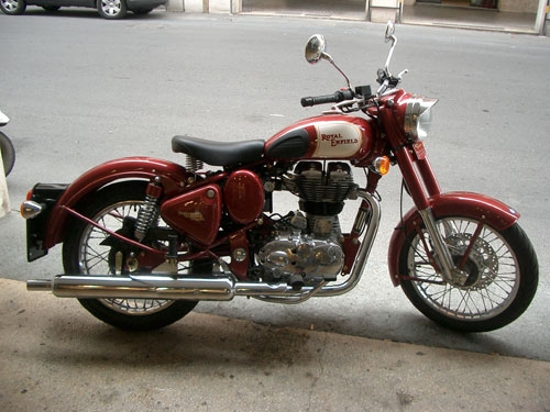 Royal Enfield - Classic Brown