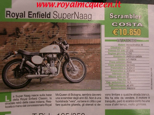 Royal Enfield - In Sella 18 Speciale Cross